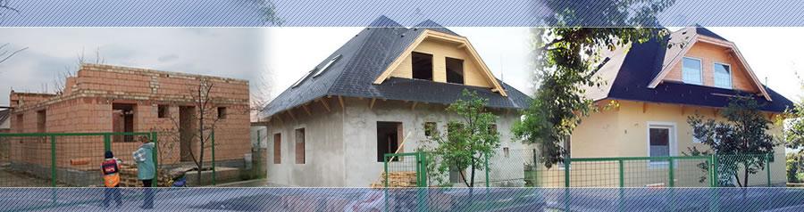 Családi ház építés